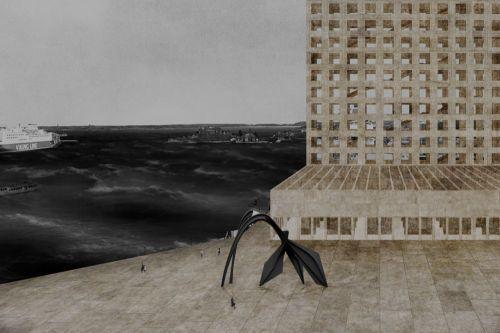 Laurent de Carniere · Guggenheim Museum Helsinki - Perpendicular