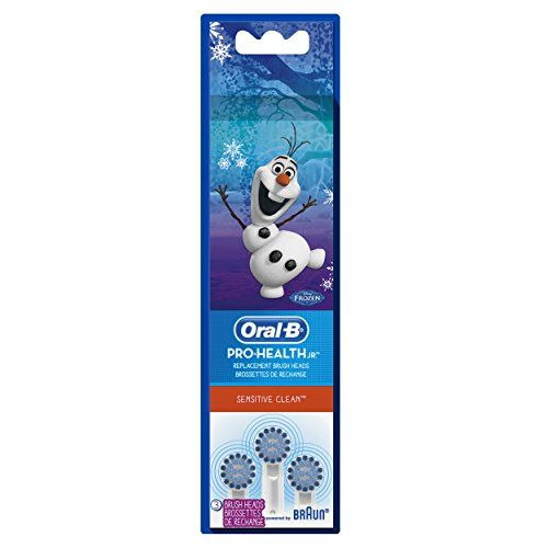 Bring Joy To Their Routine. These Oral-B Pro-Health Jr. Sensitive Clean replacement toothbrush heads are perfect for kids to get a healthy thorough clean. While their smiles continue to grow and deve...
