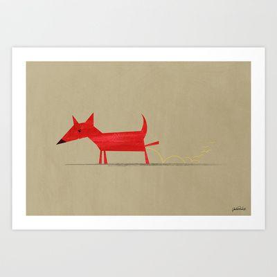 Red Dog v.3 by Aga Grandowicz