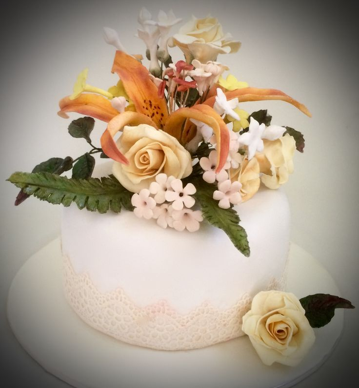 Lily and roses- Cakes by Ayomi
