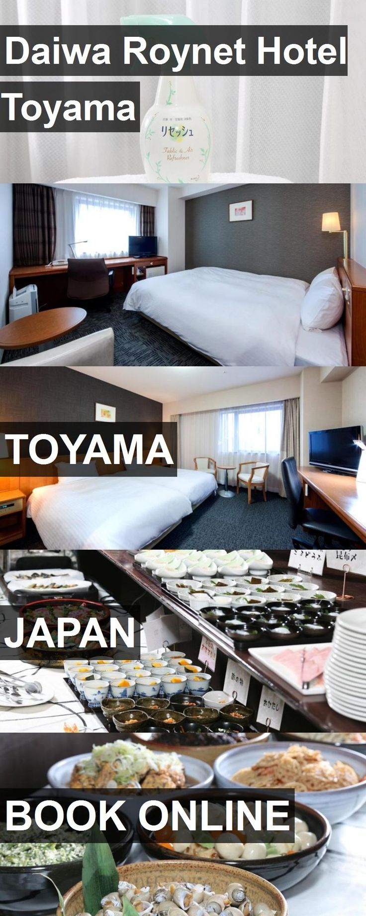 Daiwa Roynet Hotel Toyama in Toyama, Japan. For more information, photos, reviews and best prices please follow the link. #Japan #Toyama #travel #vacation #hotel