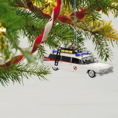 Ghostbusters™ ECTO-1 Ornament With Light and Sound ...