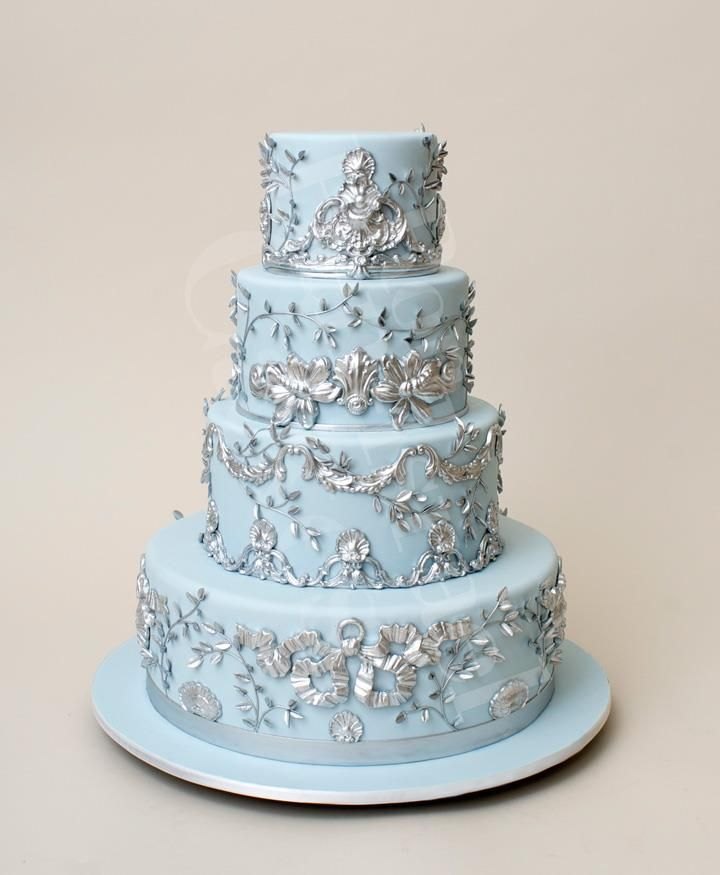baby blue and silver wedding cakes best 25 blue silver weddings ideas on blue 10993