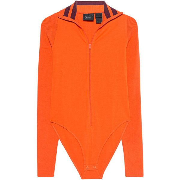 a10d10392a Fenty x Puma by Rihanna Zip Suit Orange // Body with zipper facing ...