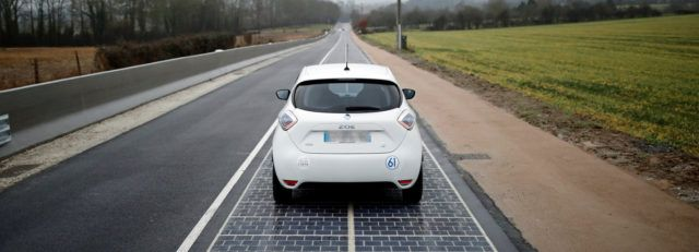 Wattway: a solar road to clean energy in Normandy