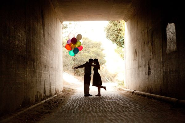 Sharing our love for balloons with inspiration on how to incorporate them into your love-filled day, engagement session or save-the-date.