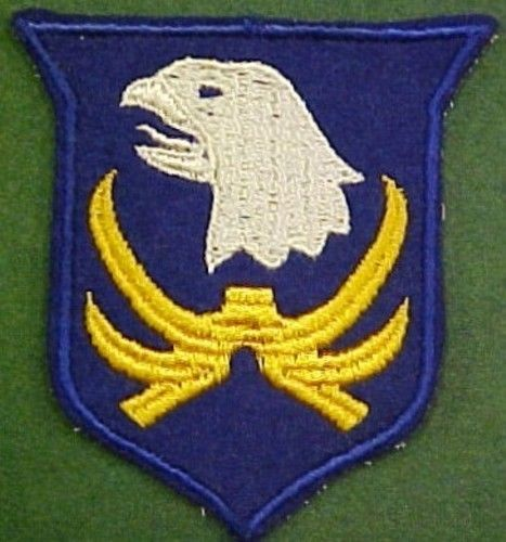 Pre WW2 101st Infantry Division 1st Design Patch