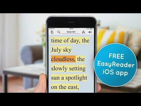 EasyReader for iOS - FREE accessible reading app for dyslexia, low vision & blindness | Dolphin Computer Access