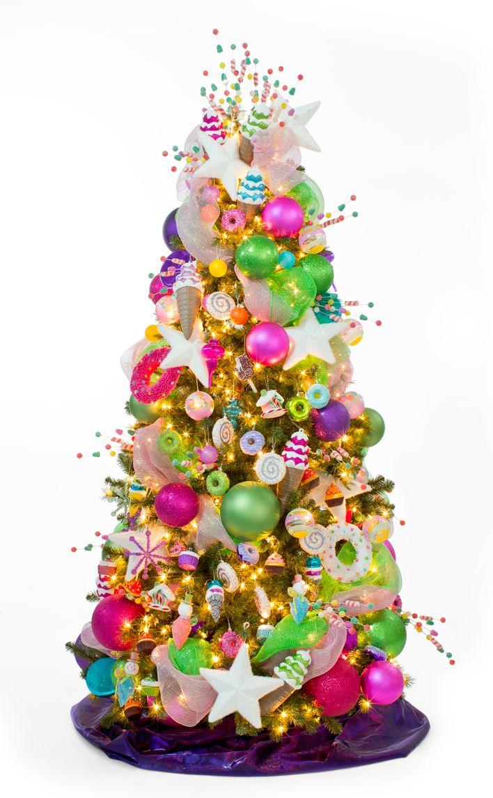 Crea diseños que le den alegría a tu hogar. Árbol colección Candyland.