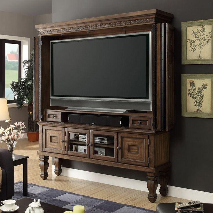 Parker House Aria Armoire Entertainment Center | from hayneedle.com