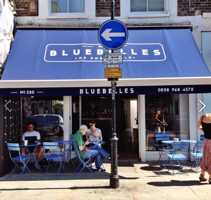 Another great coffee bar at the top northern end of Portobello Road.