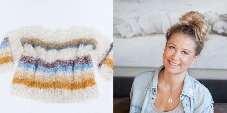 Tone Damli-stylist Line Langmo deler oppskriften på hvordan du lager sommerens lekreste strikkegenser.