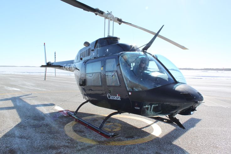 Student pilots selected for rotary wing aircraft (helicopters), begin their Advanced Flying Training on the Bell 206 Jet Ranger helicopter, a single engine helicopter. PHOTO: DND