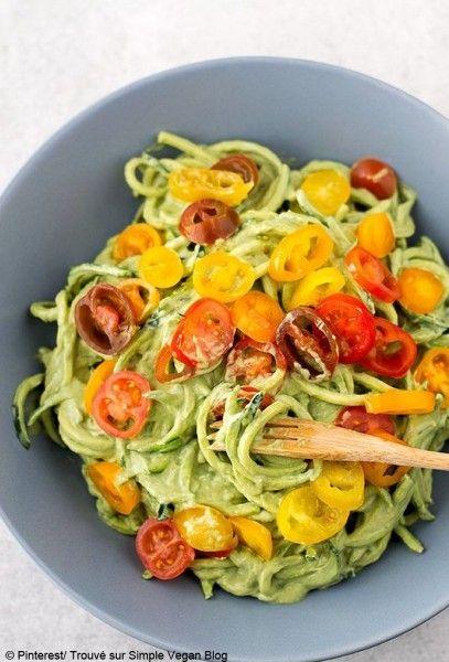 Courgette spaghetti : en version veggie, ou gourmande, découvrez des idées de recettes pour faire des spaghetti de courgette....