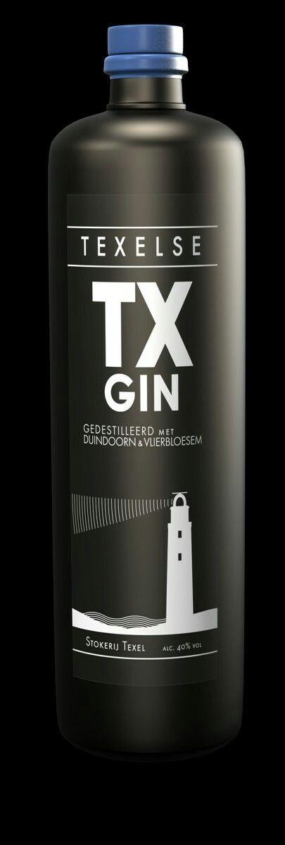 TX Gin, Texel, Noord-Holland.