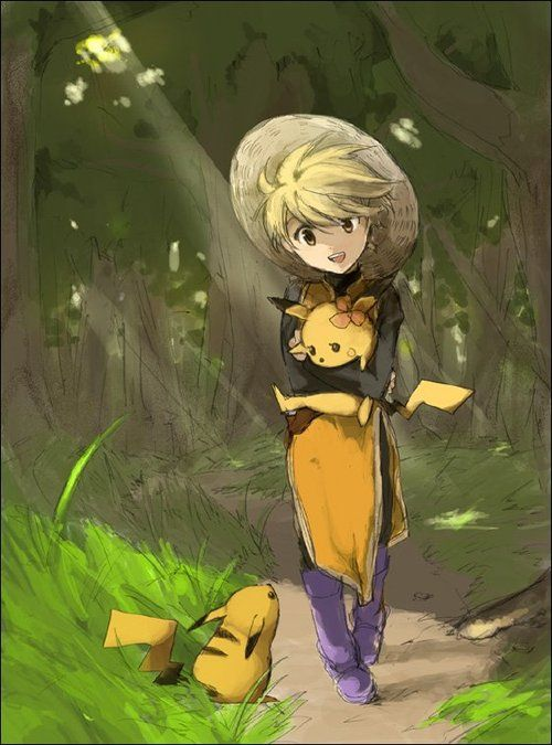 yellow pokemon adventures - Google Search