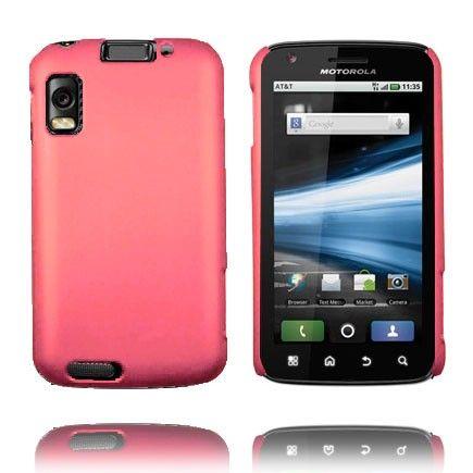 Hard Shell (Vaaleanpunainen) Motorola Atrix 4G Suojakuori