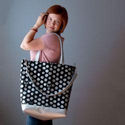 Jelen mezi puntíky :: LOOKrecia - LOOKrecia| Ručně šité originální kabelky, homeopatická pouzdra, dámské peněženky, kabelky pro děti, bokovky, elegantní ledvinky
