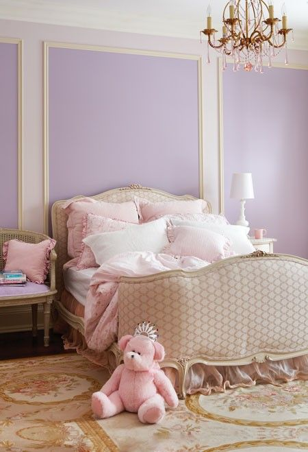 A Pretty, Sophisticated Girl's Room    A soft palette and elegant antiques give this space classic appeal.
