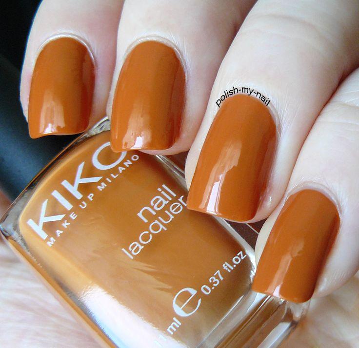 Kiko - 368 Burned Orange #kiko #orange