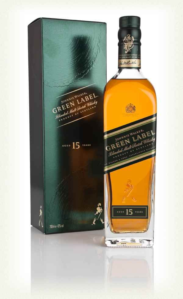 Review #1 - Johnnie Walker Green Label #scotch #whisky #whiskey #malt #singlemalt #Scotland #cigars