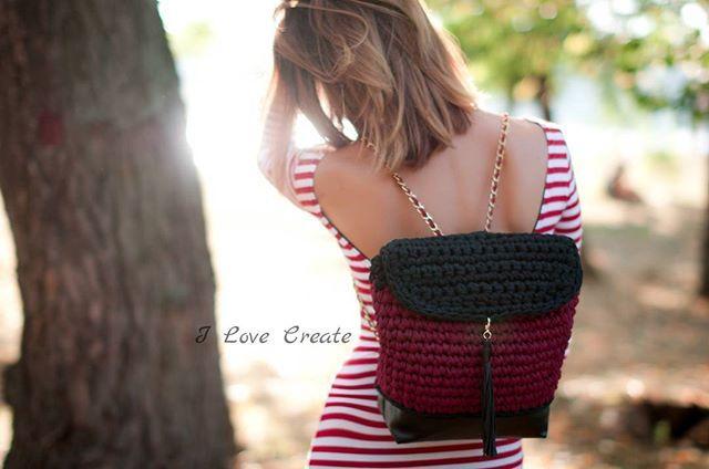 Рюкзак Big Size🍁 Состав: основа- хлопок, подкладка- креп-сатин, дно- эко-кожа с уплотнителем🍁 Размер 31×32×10 см🍁 Под заказ📲80992858726 Цена 950 грн #handmade #crocheting #crochetbags #bags #backpack #fashion2017 #autumnbackpack #i_love_create #madeinukraine #вяжуназаказ #рюкзаккрючком #рюкзакручнойработы #модноевязание #дизайнерскиерюкзаки #рюкзаквналичии #рюкзакназаказ #осеннийрюкзак  #мода2017 #модныерюкзаки #модныетренды #сумкарюкзак #рюкзакнаосень #украина #киев