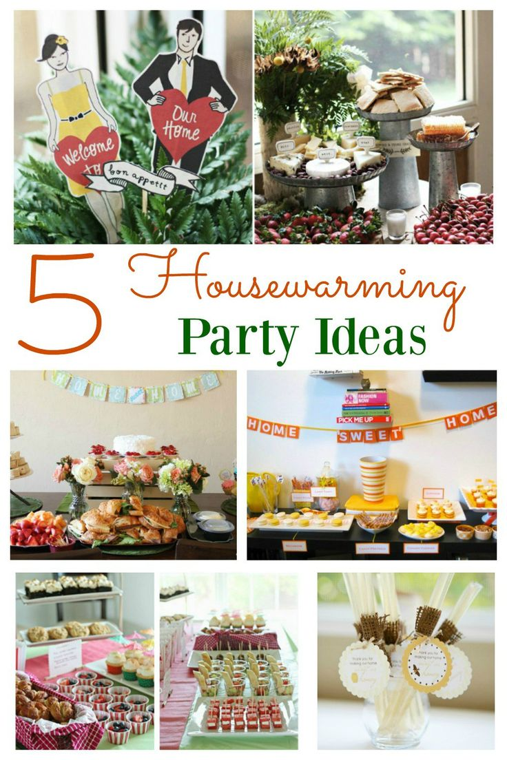 The best way to make a new house feel like a home is to hold a housewarming party.  The thoughts of holding a party can be stressful, but with some easy food ideas, DIY decorations and some party inspiration, holding a housewarming party will be a breeze.
