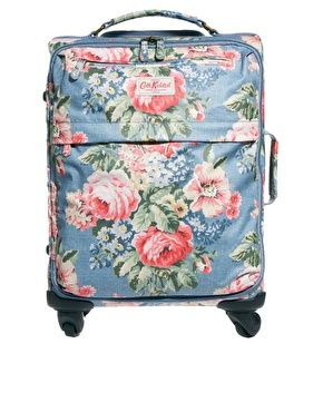 Cath Kidston Cabin Size Suitcase I'd love to travel around with this baby