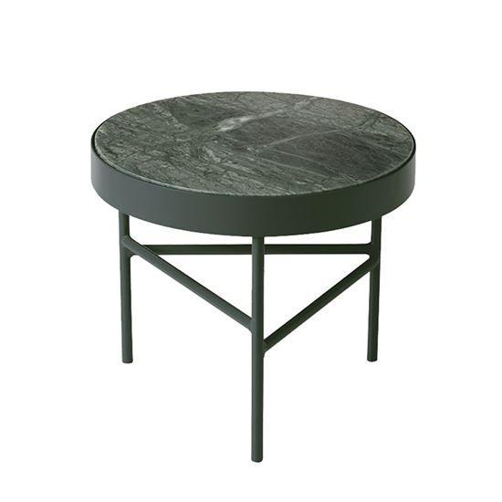 Ferm Living Marble Table Marmor bord Small Green Ø:40cm