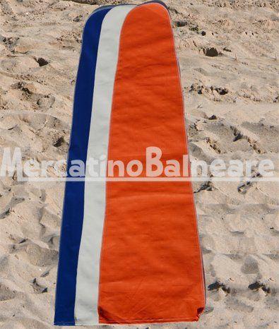 CAPPUCCI RAFFIA PER OMBRELLONE - Mercatino Balneare Cappucci di raffia per ombrellone da spiaggia. Ideale per riparare l'ombrellone dalla salsedine e dall'umidità. Disponibile in vari colori: Bianco / Blu / Arancio Unità per busta: 50 Dim. (cm.): 70 x 15 x 40 Vol. (m3 ): 0,04 Peso (kg.): 20  http://www.mercatinobalneare.it/prodotto/cappucci-di-raffia-per-ombrellone-da-spiaggia/  #stabilimentobalneare #attrezzaturabalneare #attrezzaturabalneareusata #mercatin