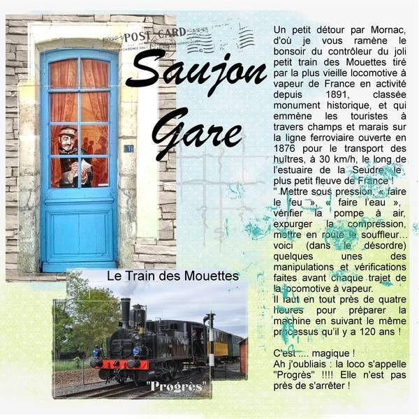 Le Train des Mouettes - Album de pages de scrap. - Galerie Scrapbooking