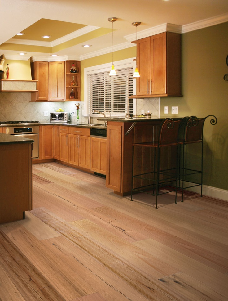 Bamboo Floors Add Natural Beauty To Any Kitchen, Living Room, Or Bedroom.  Shop