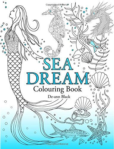 Sea Dream Colouring Book Amazoncouk De Ann Black