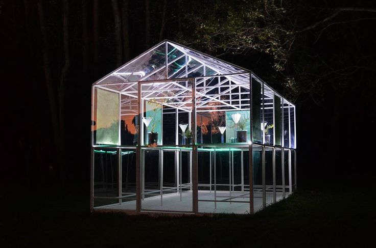 'Temple of Flora' - an installation piece by Jonathan Freemantle