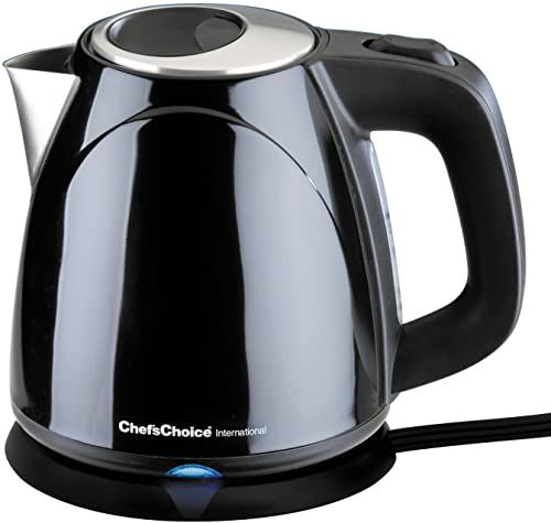 Amazing offer on Chef'sChoice 673 Cordless Compact Electric Kettle Features Boil Dry Protection & Auto Shut Off Easy Pour, 1