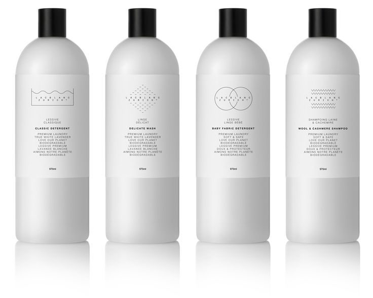 Clean your dirty linens in style with Lac Blanc Zurich's luxury line of…