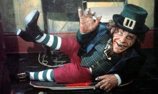 pictures of leprechaun movie   Leprechaun Smoking A Pipe