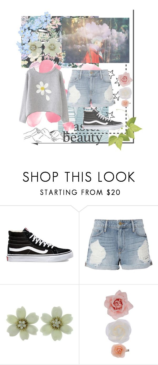 """""""nature at best // Yoongi"""" by taetaeasia ❤ liked on Polyvore featuring beauty, Old Navy, Vans, Frame, Van Cleef & Arpels and Accessorize"""