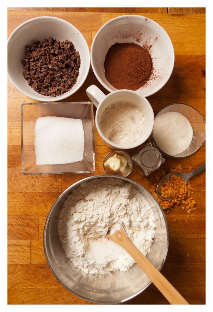 Chocolate Cake In X Pan