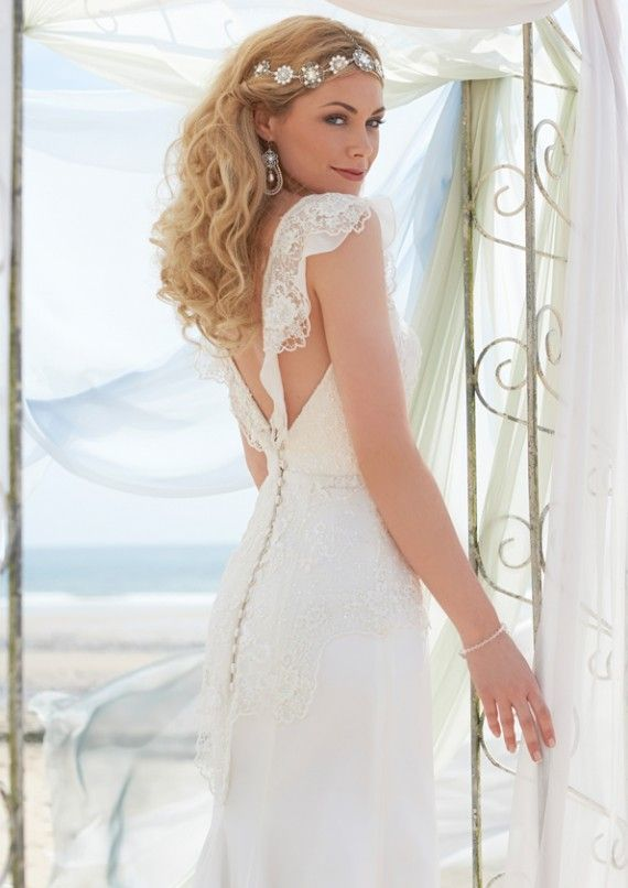 Stephanie Allin London Designer Wedding Dress Wales Monique