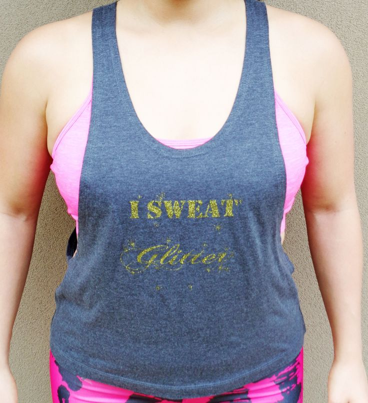 We are loving SychoFit's glitter tank!  Also available in Aqua! :) Shop the look now at www.energoappare.com.au