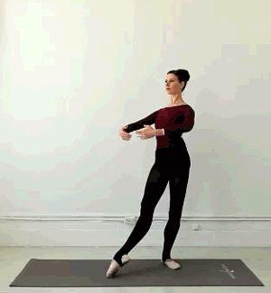 Quest for a Ballet Body: The Plié Tendu - a ballet lunge for long, lean thighs