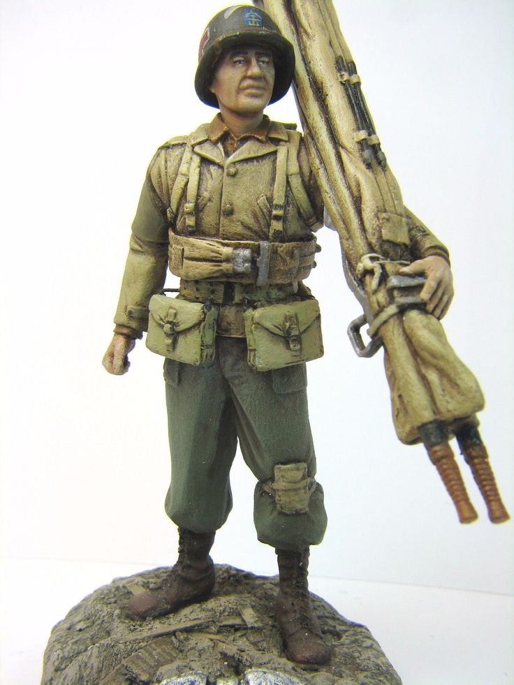 US Army Ranger Medic (Ranger Battalion Ponte Du Hoc Normandy 1944), 120mm figure | eBay