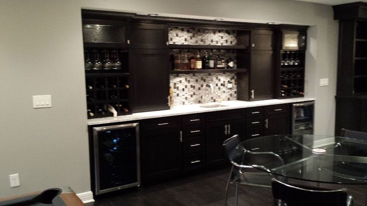 wet bar ideas for basement | Basement Remodeling Project ...