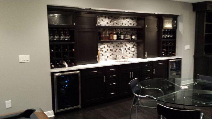 wet bar ideas for basement | Basement Remodeling Project ...