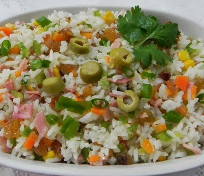 Receita De Arroz A Grega Receitas Habitos Alimentares Saudaveis