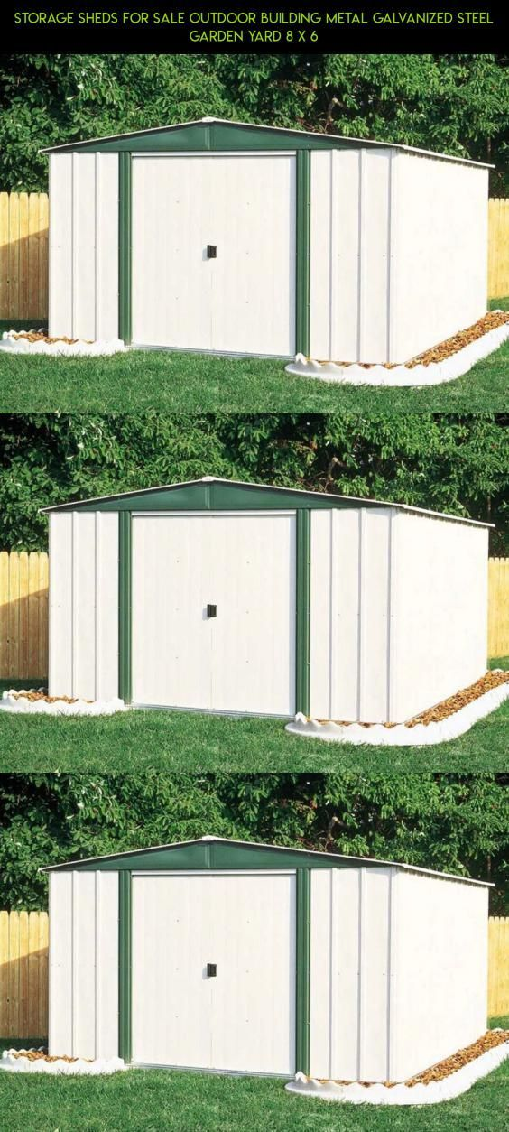 Storage Sheds For Sale Outdoor Building Metal Galvanized Steel Garden Yard 8 x 6 #8x6 #racing #storage #tech #fpv #outdoor #shopping #drone #gadgets #plans #camera #parts #kit #& #sheds #products #technology