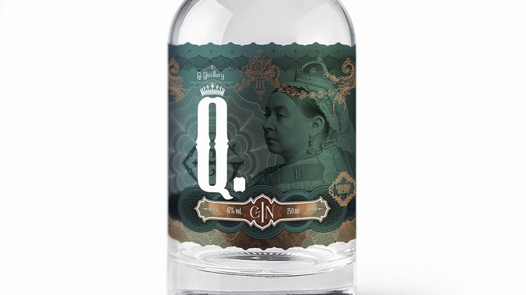 Q. GIN on Packaging of the World - Creative Package Design Gallery