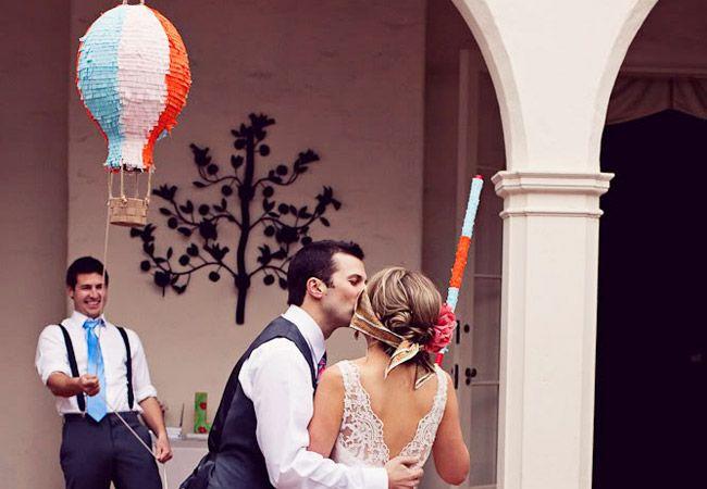 how to make a wedding pinata