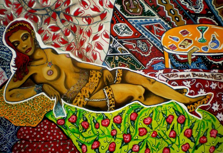 Venus from Bucharest, oil on canvas, 90/64'', 2010